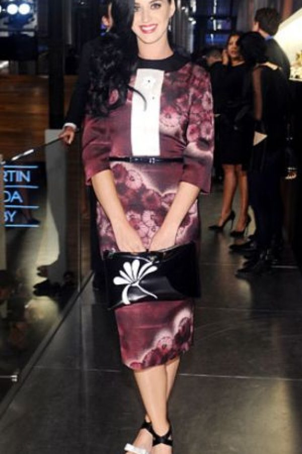 Katy Perry acá no tiene figura. Foto:vía Getty Images
