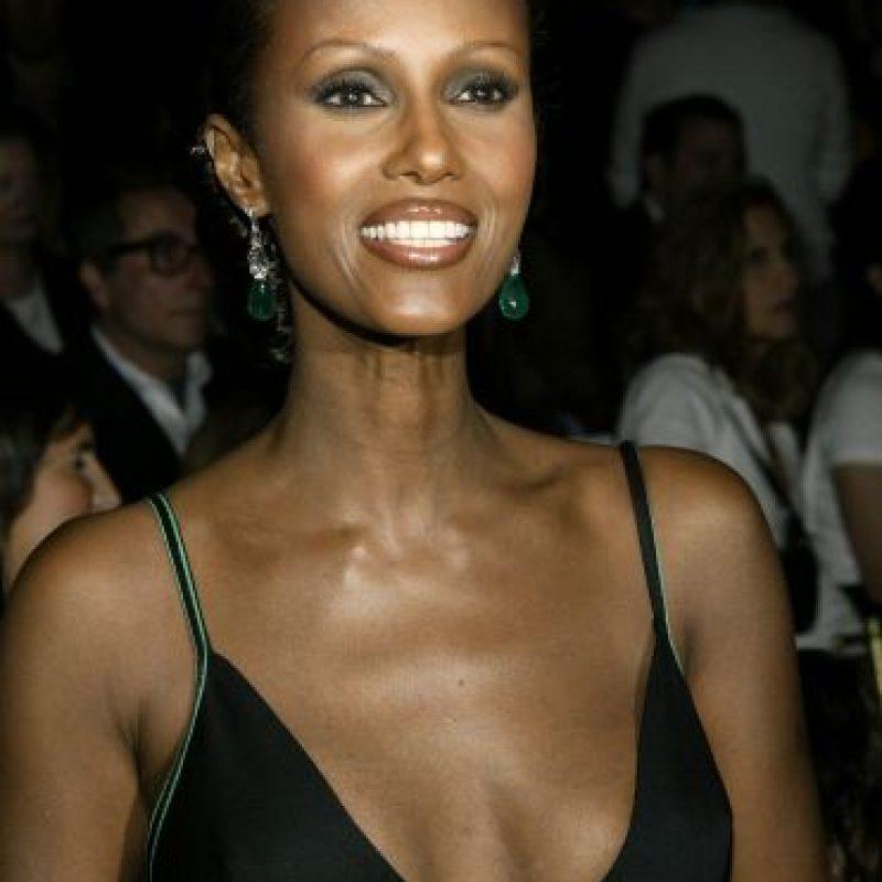 """Iman, un ícono de las modelos """"de color"""". Foto:Getty Image"""