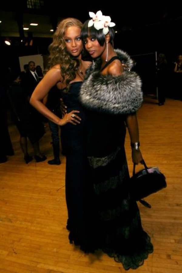 Tyra Banks y Naomi Campbell, dos famosas que se quejan de la industria. Foto:Getty Image