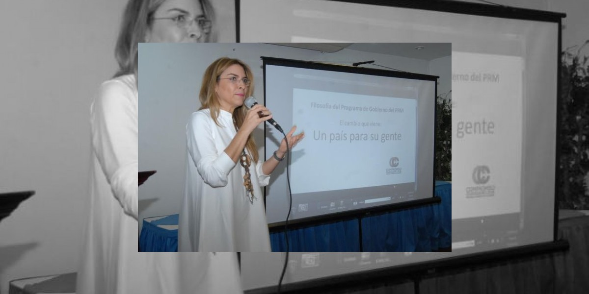 Carolina Mejía dice PRM aumentará beneficios de la tarjeta Solidaridad