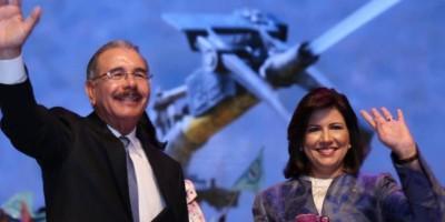 Danilo Medina y Cedeño de Fernández son inscritos como candidatos ante la JCE