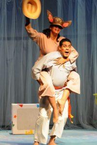 Platero y yo. La versión escénica de Claudio Rivera, basado en el texto original de Juan Ramón Jiménez.  Foto:Fuente externa