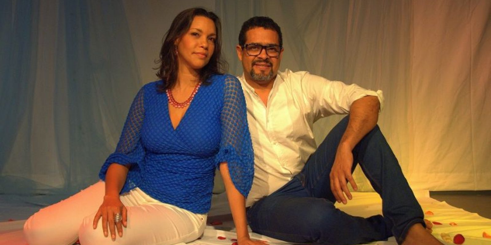 Viena González y Claudio Rivera, creadores del Guloya. Foto:Fuente externa