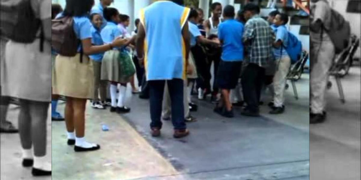 Unicef, alarmada por violencia en colegios dominicanos