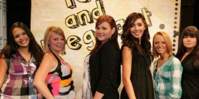 """""""16 and pregnant"""" trataba de cinco madres adolescentes lidiando con el peso de sus decisiones. Foto:vía MTV"""