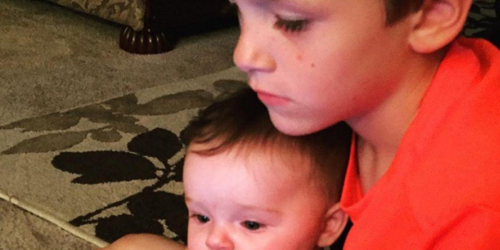 Ya tiene dos hijos y uno en camino. Foto:vía Instagram