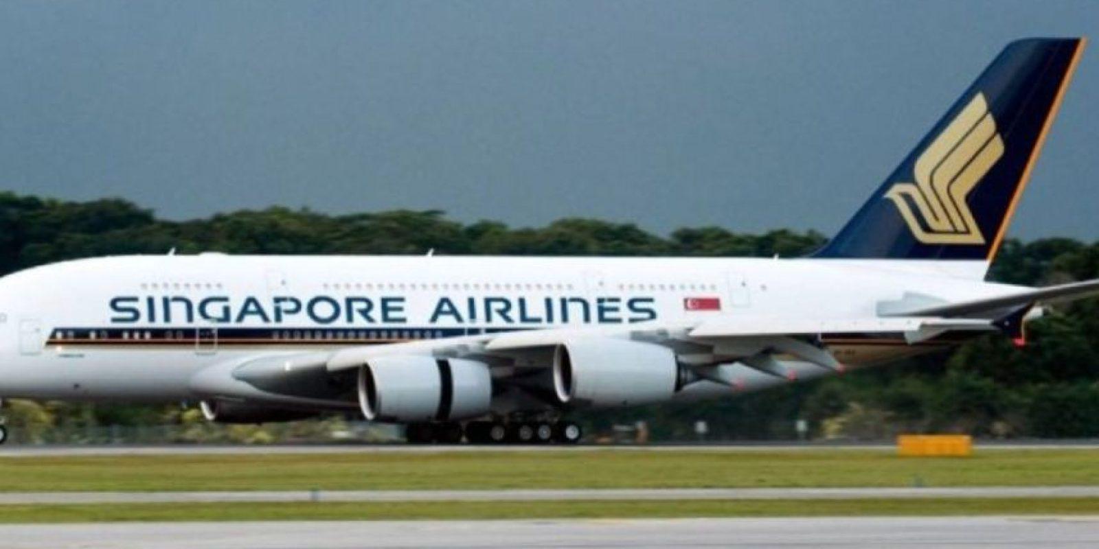 Singapore Airlines- Singapur Foto: Vía Facebook.com/singaporeair