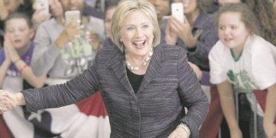 Encuesta: Hillary Clinton ganaría con amplia ventaja