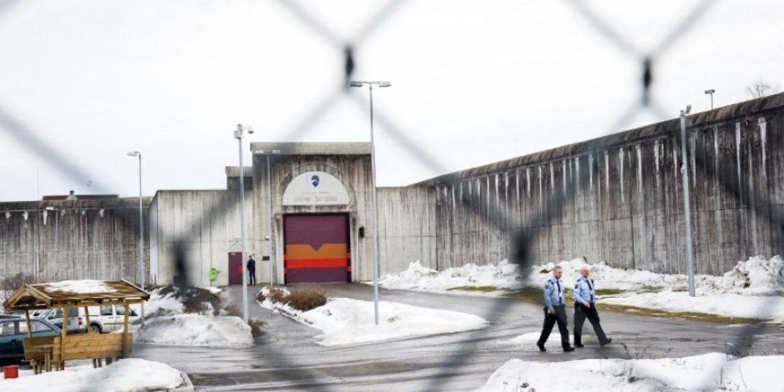El noruego lleva tres años en la cárcel Skien. Foto:AFP