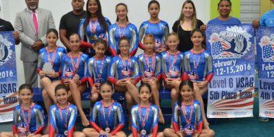 Gimnastas del Naco logran 55 medallas