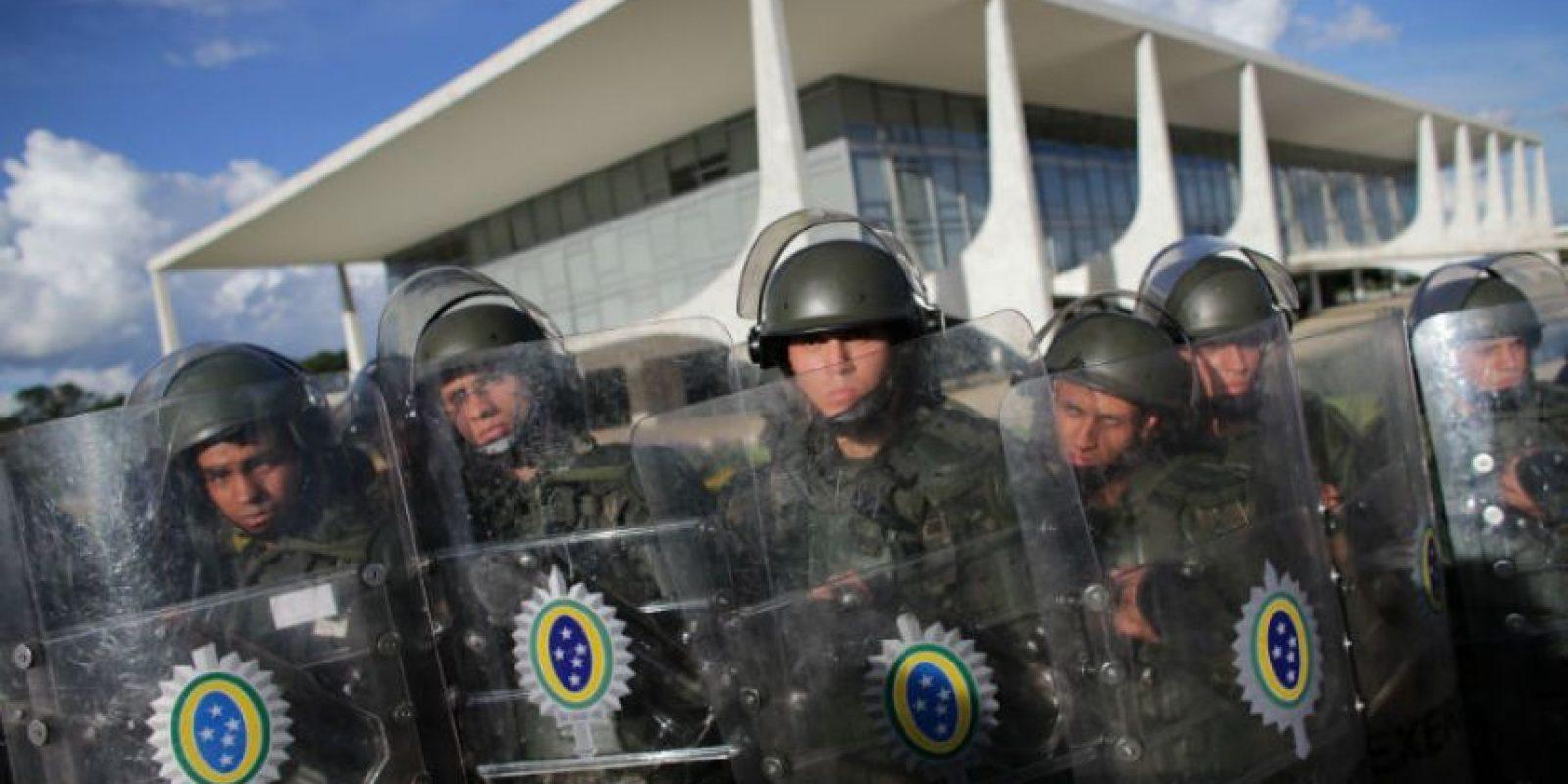 La noticia no fue muy bien recibida por toda la población brasileña. Foto:AP