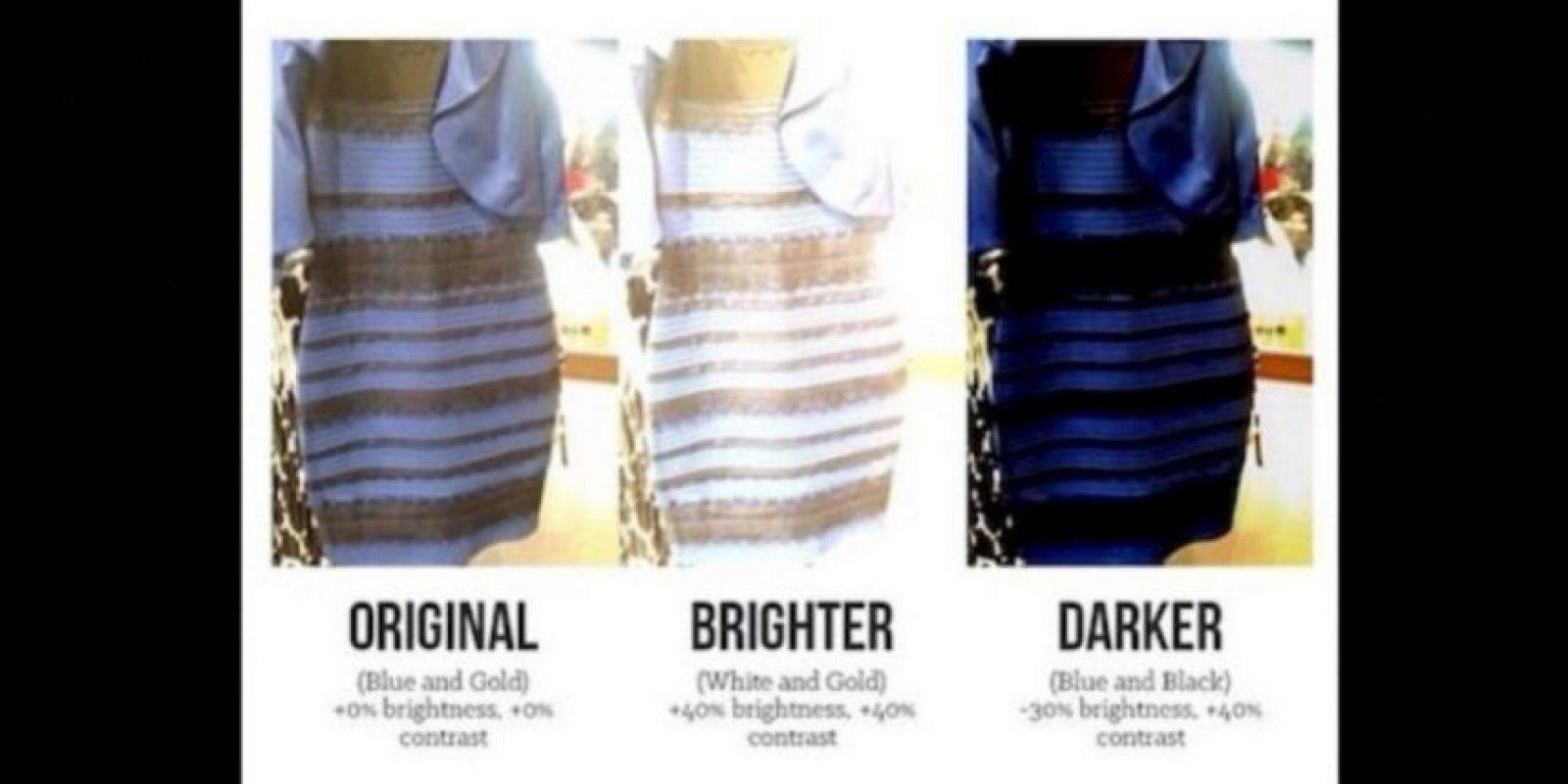 Una fue el famoso vestido. ¿La explicación? Todo dependía del brillo de la foto Foto:Twitter.com – Archivo