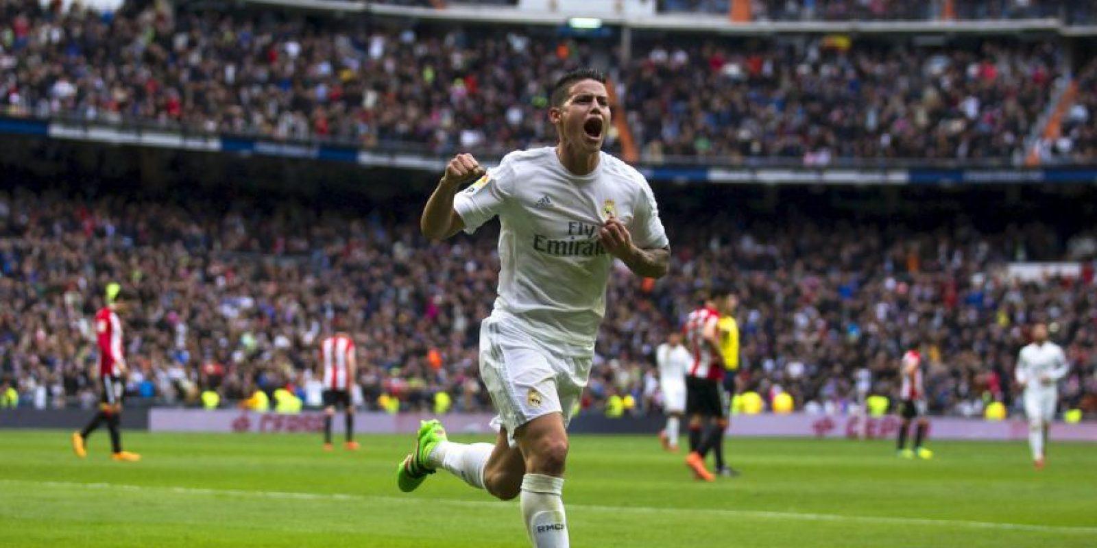El colombiano decepcionó en su segunda temporada como blanco Foto:Getty Images