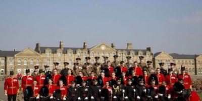 El Príncipe William se reunió con la Guardia Irlandesa Foto:Getty Images