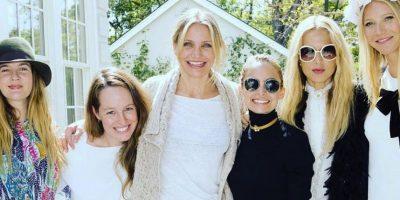La actriz realizó un almuerzo de lanzamiento al que asistieron sus famosas amigas/ instagram Foto:Fuente externa