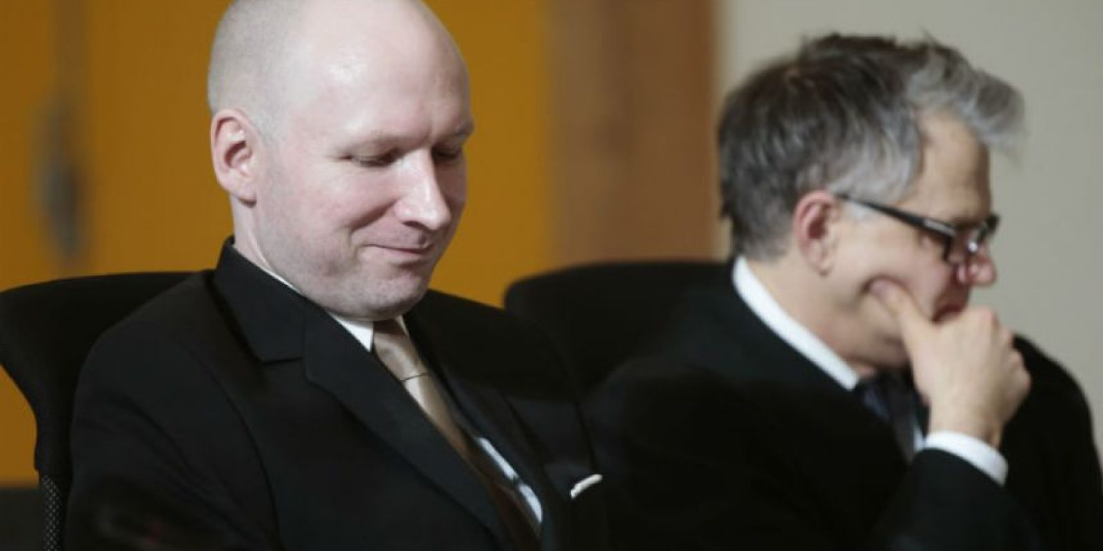 Esto después de que se le acusara de homicidio y terrorismo en los atentados de Noruega en 2011. Foto:AP