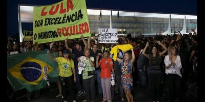 Reclaman el puesto asignado a Lula da Silva. Foto:Vía Twitter @amigoperu76