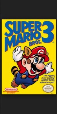 "7.- ""Super Mario 3"" para Nintendo Entertainment System. Foto: Nintendo"