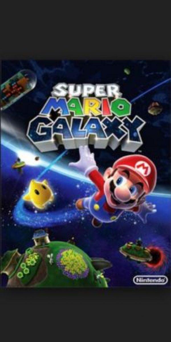 """2.- """"Super Mario Galaxy"""" para Nintendo Wii. Foto:Nintendo"""