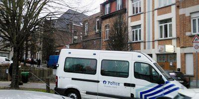 Imágenes del barrio de Bruselas donde fue capturado Salah Abdeslam Foto:AFP