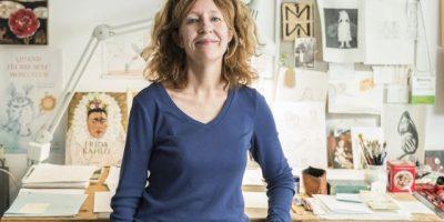 """Mireille Levert: """"La ilustración para niños me permite viajar a un mundo imaginario"""""""