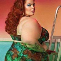 Ella ha demostrado que un cuerpo normal puede ser como el que tiene. Foto:vía Instagram/tessholliday