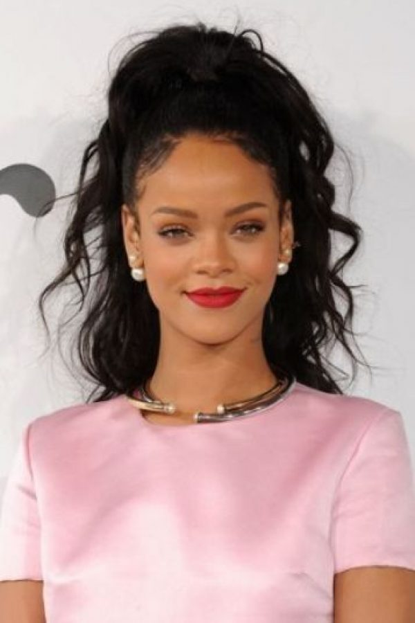 Rihanna – Cantante barbadense. Foto:Getty Images