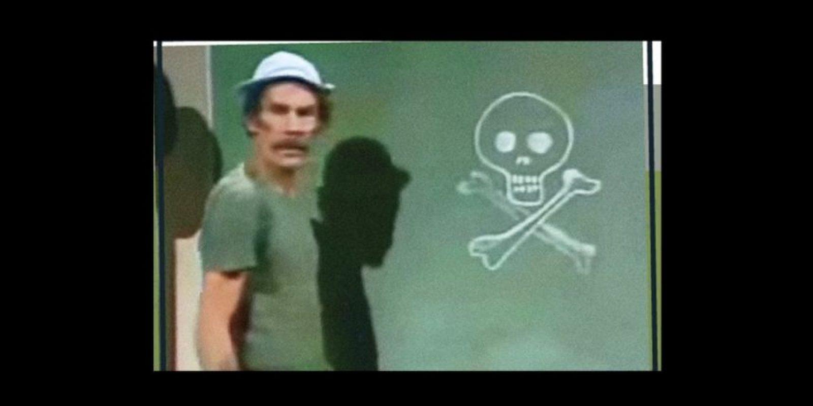 El actor tenía una fuerte adicción al tabaco Foto:vía facebook/Roberto Gómez Bolaños