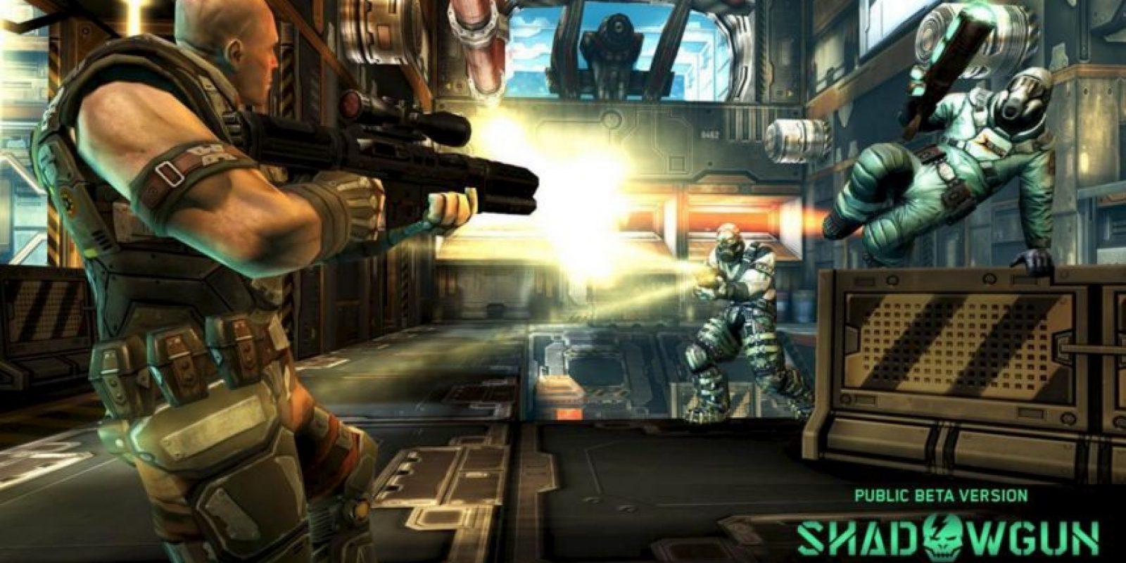 """Shadowgun Deadzone es un simulador de disparos multijugador al estilo """"Gears of War"""". Foto:Madfinger Games"""