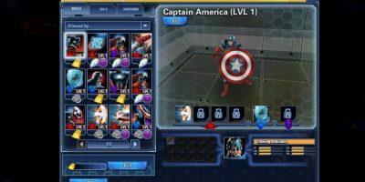 Marvel Avangers Aliance Tactis permite que héroes y villanos del universo Marvel luchen en este juego de estrategia. Foto:Marvel