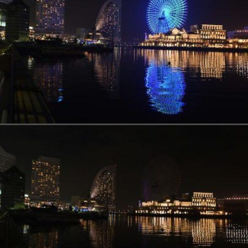 Vista de la bahía en la ciudad japonesa de Yokohama Foto:AFP