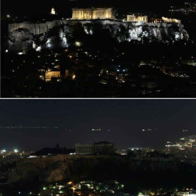 El Partenón en Grecia Foto:AFP