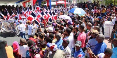 Desfile por el 172 aniversario de la Batalla del 19 de Marzo en Azua Foto:@PresidenciaRD