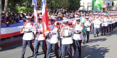 Desfile por el 172 aniversario de la Batalla del 19 de Marzo Foto:@PresidenciaRD