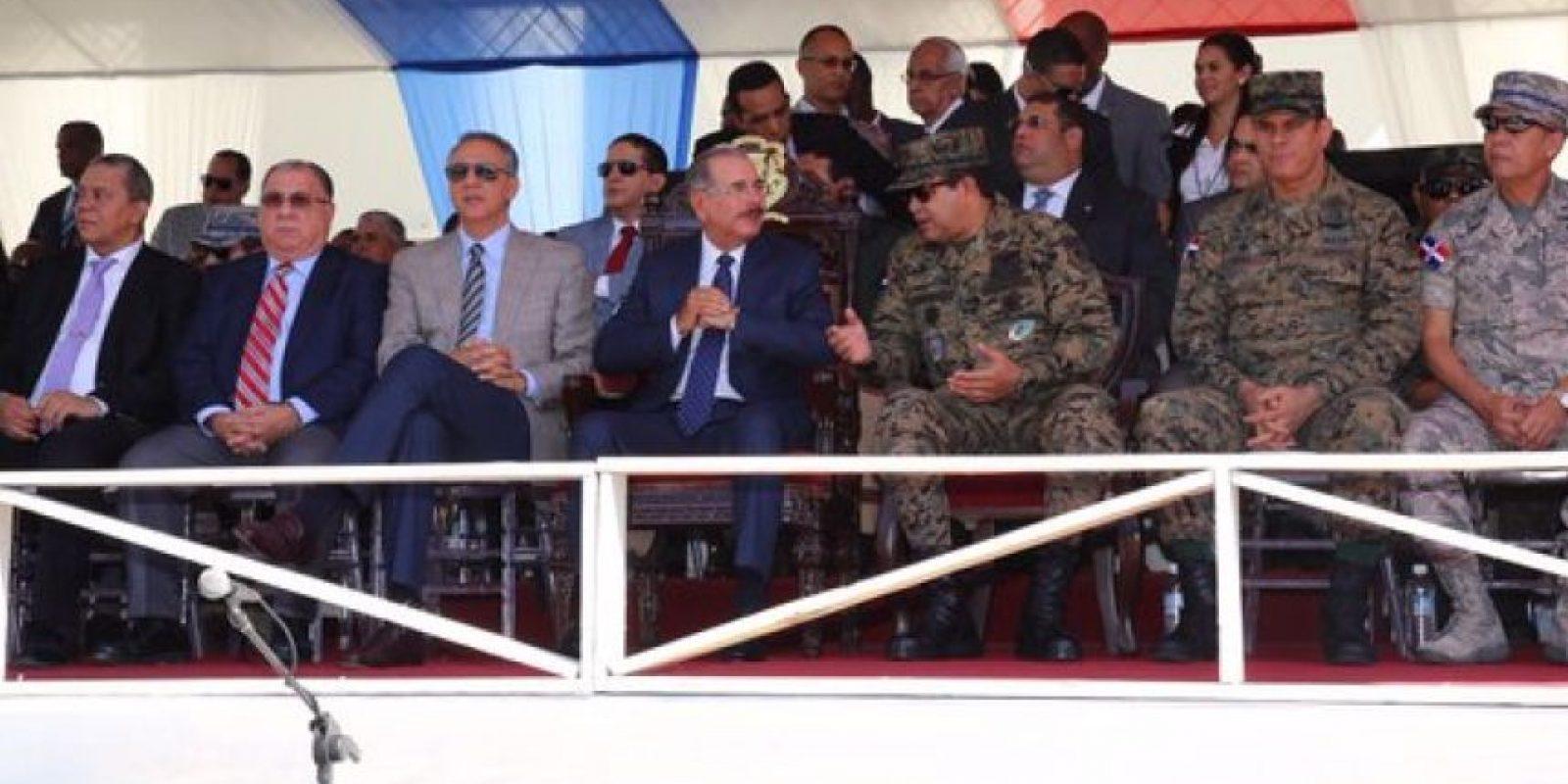 El presidente Medina encabeza los actos por el 172 aniversario de la Batalla del 19 de Marzo Foto:@PresidenciaRD
