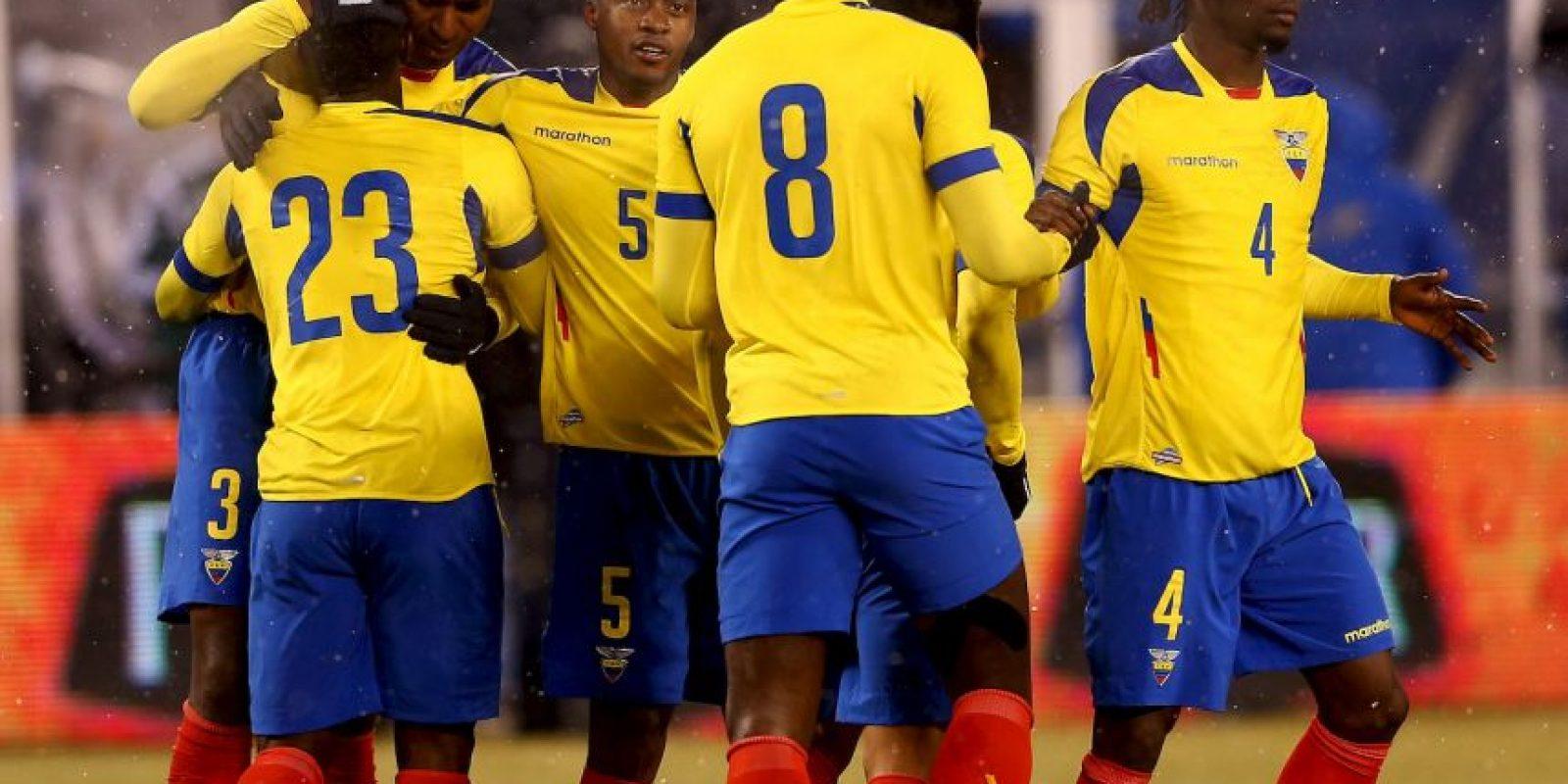 Ecuador se mide con Paraguay el jueves 24 de marzo Foto:Getty Images