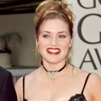 Los chokers, de Kate Winslet… Foto:vía Getty Images