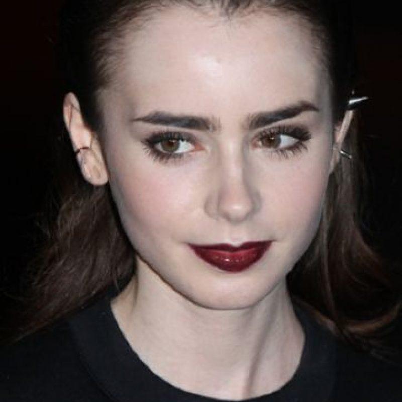 Lily Collins los copia. Foto:vía Getty Images