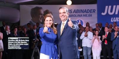 Carolina Mejía promete que junto a Abinader relanzará Mipymes y el turismo