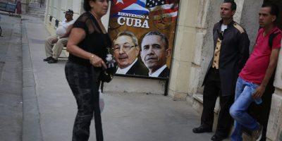 Incluso hay carteles en la calle para darle la bienvenida Foto:Getty Images