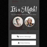 Cada día se producen 3 millones de matches. Foto:Tinder