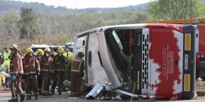 Mueren 14 estudiantes de intercambio en España