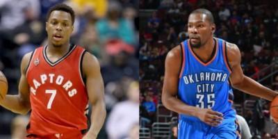 Kyle Lowry y Kevin Durant son los Jugadores de la semana