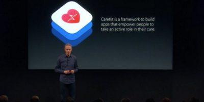 Otra novedad fue el tema de salud. Foto:Apple