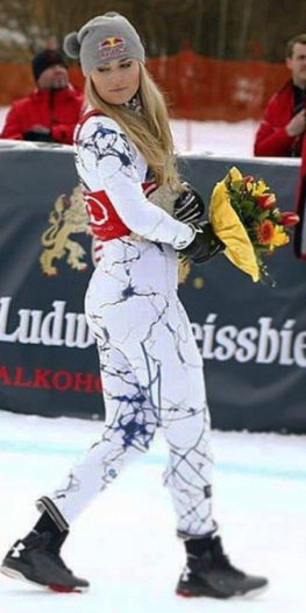 Es una esquiadora estadounidense Foto:Vía instagram.com/lindseyvonn