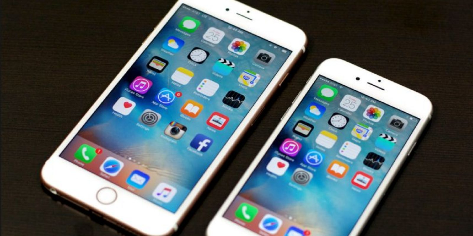 iPhone 6s y 6s Plus Foto: Getty Images
