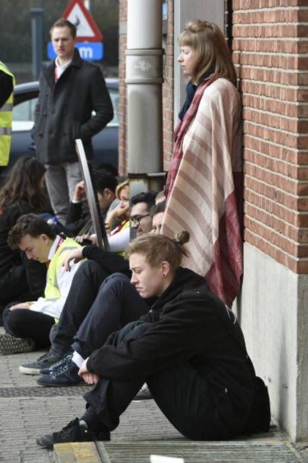 Bruselas convulsionada tras ataques terroristas Foto:AFP
