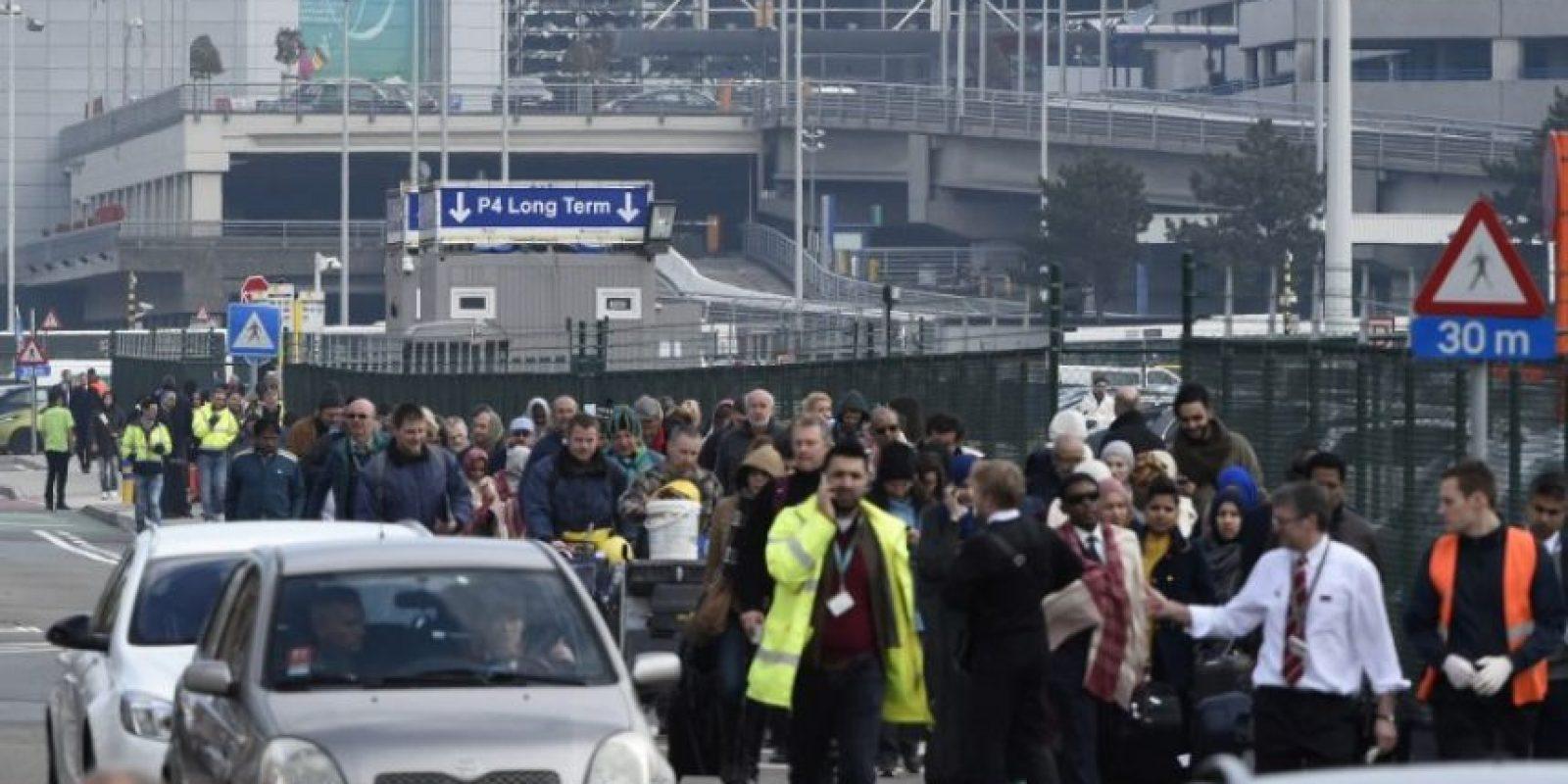 Atentados terroristas en Bruselas Foto:AFP