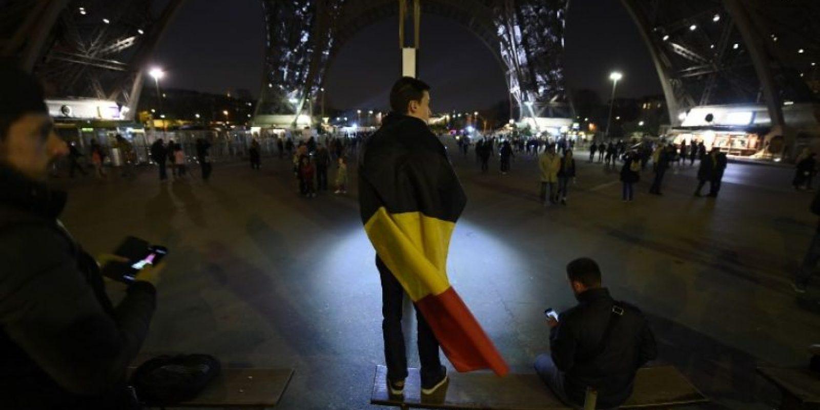 Distintas personas se acercaron a la zona. Foto:AFP
