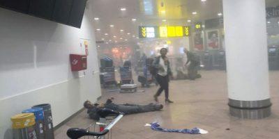 Ocurrió poco después de las ocho de la mañana, en donde hubo una doble explosión. Foto:AP